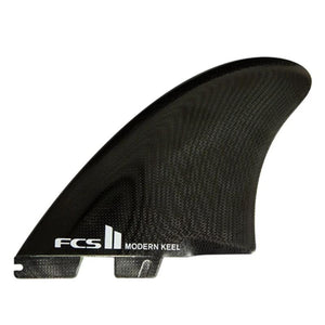 FCS2 Modern Keel Twin (Black) surf surfboard accessories