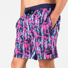 Load image into Gallery viewer, Rusty boardshorts blue nights elastic