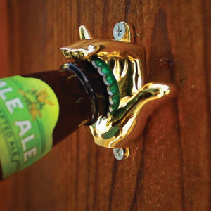 Sandy Handy Wall Mount Bottle Opener