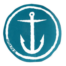 "Load image into Gallery viewer, Captain Fin 5"" Anchor Sticker"