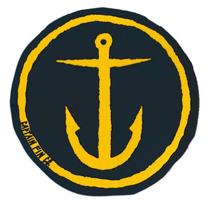 "Captain Fin 5"" Anchor Sticker"