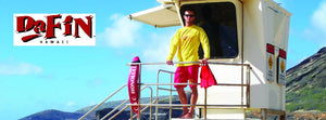 DaFin bodysurf swim fin Lifeguard Hawaii