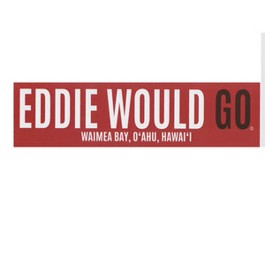 Eddie Would Go Official Contest Sticker