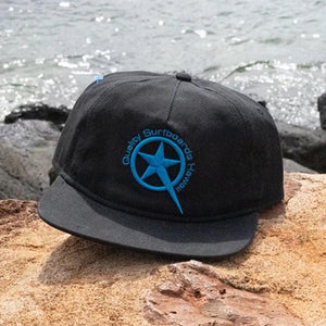 Star Embroider Black/Blue