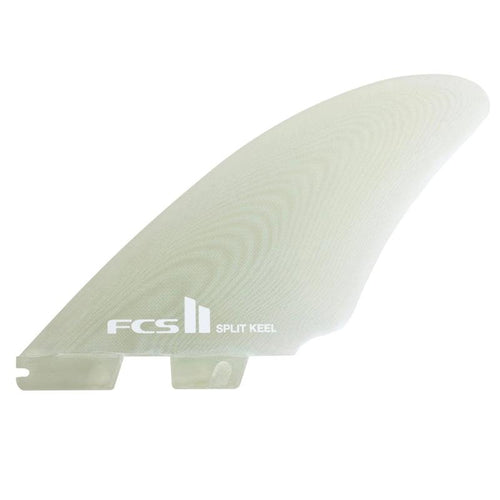 FCS2 Split Keel Quad (Clear) surf surfboard accessories