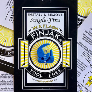 Finjak (Tool-Free Single Fin Device)