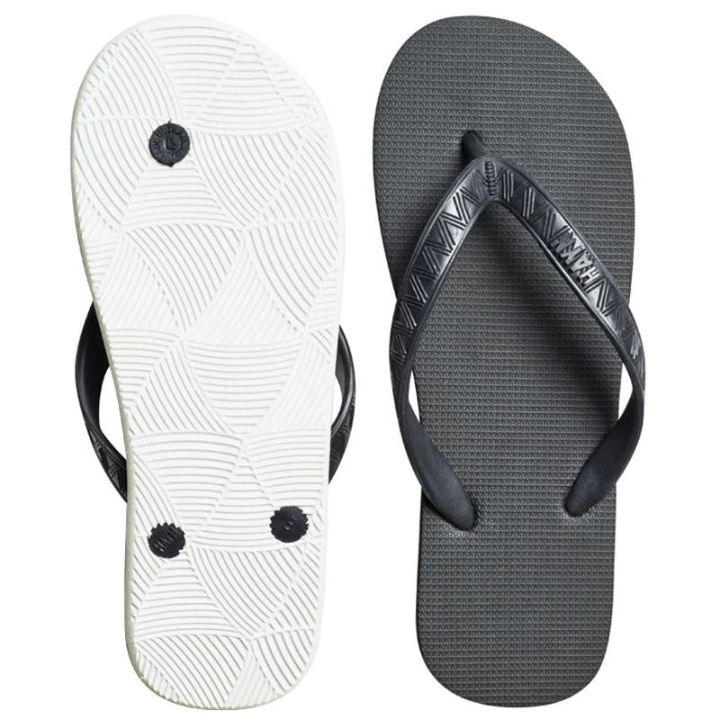 Hayn Lava Rock Black/White Sandal