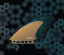 Load image into Gallery viewer, Futures surfboard  fin  rasta  keel twin