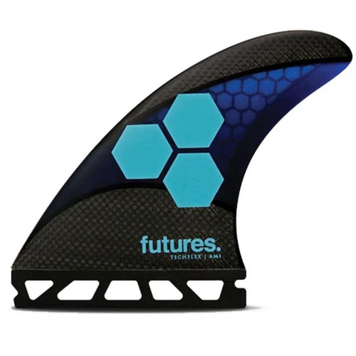 Medium Futures AM1 Techflex Thruster (Blue/Cyan)