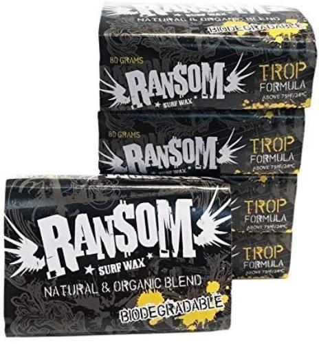 Ransom surf wax tropical organic biodegradable