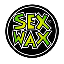 "Load image into Gallery viewer, Sex Wax words round 2"" Sticker"