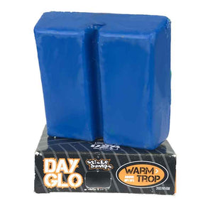 Sticky Bumps Day Glo Surf Wax blue