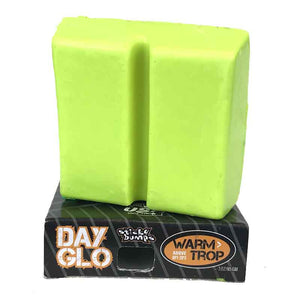 Sticky Bumps Day Glo Surf Wax lime