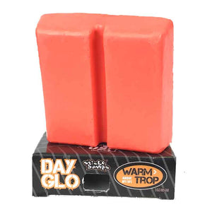 Sticky Bumps Day Glo Surf Wax red
