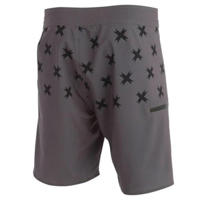 Superbrand boardshorts Charcoal back