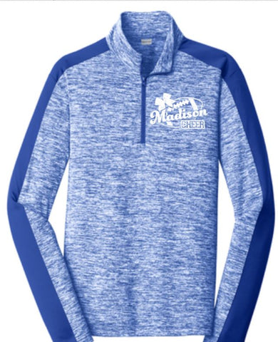 C5. Performance 1/4 Zip -Cheer Design