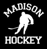 """Your Team"" Hockey Car Decal, Option to add Player Name"