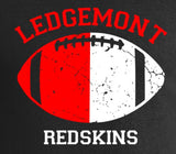 D- Ledgemont Redskins Sweatpants
