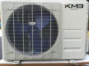 KMB KAC-12CH 12,000BTU Mini-Split Air Conditioner Heat Pump with High Efficiency Inverter and 110V Toshiba Compressor (FREE SHIPPING)