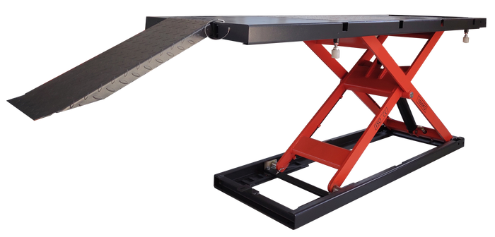 "Falcon MT2200 Electrical 2,200LB Motorcycle ATV UTV Lift Table (27.5"" Wide, Free Shipping)"