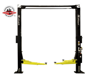 "APlusLift Falcon TR-10CX ALI Certified 166"" Tall 10,000LB 2-Post Over Head Car Lift"