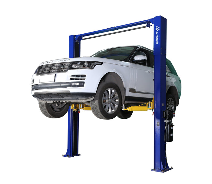 APlusLift HW-10KOH-A 10,000 LB 2-Post Over Head Heavy Duty Car Lift 24 Months Parts Warranty (FREE SHIPPING)
