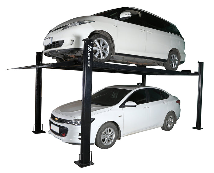 APlusLift HW-8S 8,000LB 4-Post Portable Storage Car Lift (FREE SHIPPING)