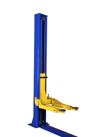 APlusLift HW-9KBP 9,000LB 2-Post Floor Plate Car Lift - One Column