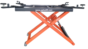 APlusLift HW-SL6600 MID RISE 6,600LB AUTO SCISSOR LIFT - Side View