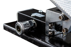 Pneumatic Foot Pedal for MT1500, MT1500X, and MT1500XLT motorcycle lift tables - Detailed View