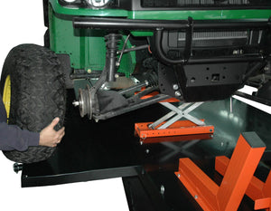 "Motorcycle Lift Table XLT Set That Extends MT1500X to 72"" Wide - Detailed View"