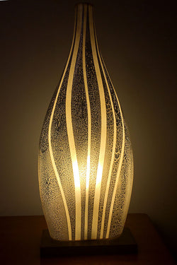 African Bass Table Light from Flow Collection