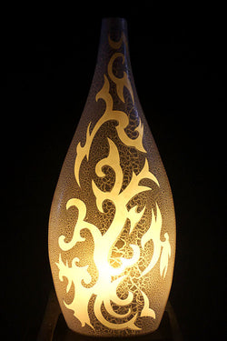 Maori Traveller Teardrop Table Light from Ethnic Collection