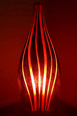Red Chill Bass Table Light from Flow Collection