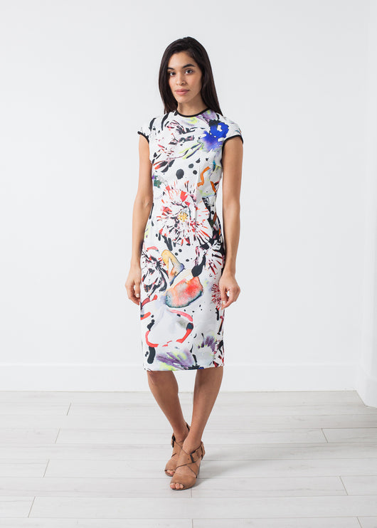Dream Dress in Painted Floral