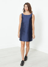 A-Line Mini Dress in Blue