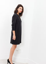 A-Line Pocket Shift in Black