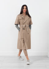 Rolled Sleeve Trenchcoat