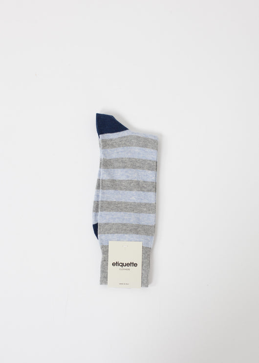 Rugby Stripe Sock