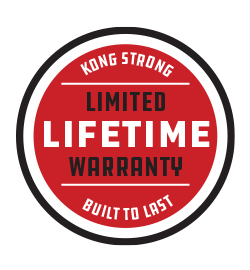 KONG Lifetime Warranty