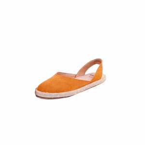 Sandale din piele naturala, model SHARP yellow