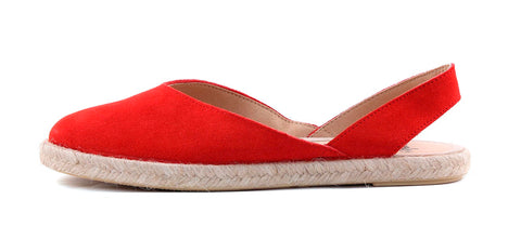 Sandale din piele naturala, model SHARP red