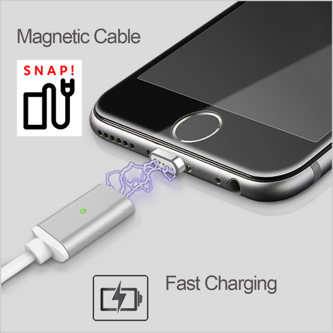 SNAP! Magnet Charger for iPhone and Android