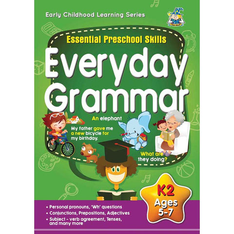 Activity Book 5-7yr Everday Grammar - Yakedas Party and Giftware