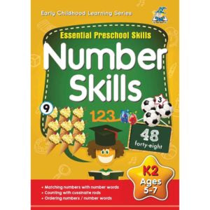 Activity Book 5-7yr Number Skills - Yakedas Party and Giftware
