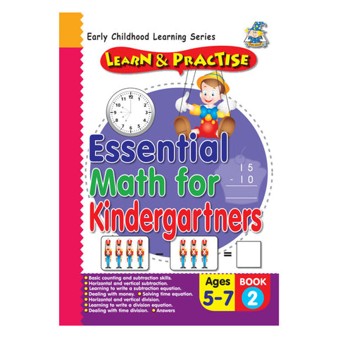 Activity Book 5 -7 Essential Math BK 2 - Yakedas Party and Giftware