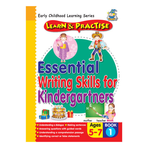 Activity Book 5 -7 Essential Writing Skills BK 1 - Yakedas Party and Giftware
