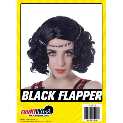 Black Flapper - Yakedas Party and Giftware