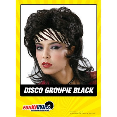 Disco groupie Black - Yakedas Party and Giftware