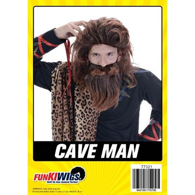 Cave Man (Brown) - Yakedas Party and Giftware